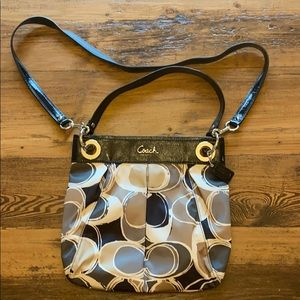 Coach Purse - never been used. Size: 12 1/2W x 11H